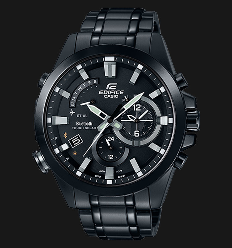Casio Edifice EQB-510DC-1ADR Tough Solar 100M Mobile Link Bluetooth® Smart Machtwatch