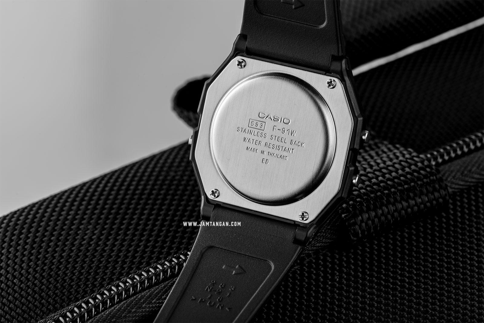 Casio General Quartz F-91W-3DG Digital Mens Watch Machtwatch