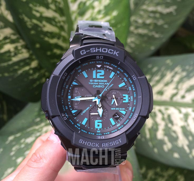 Casio G-Shock Gravity Defier G-1200BD-1ADR Machtwatch