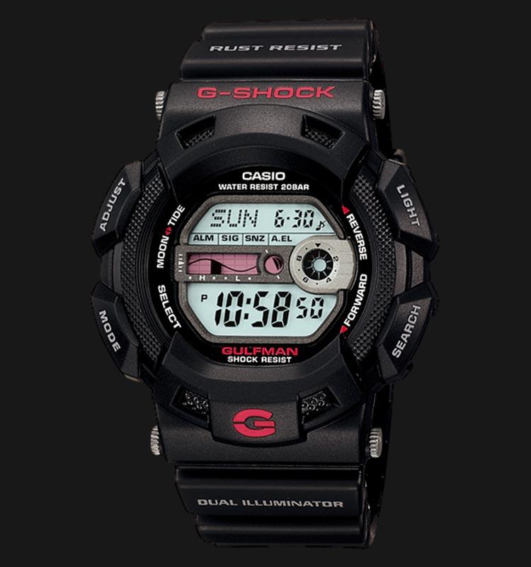 Casio G-Shock GULFMAN G-9100-1DR Machtwatch