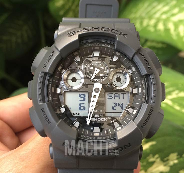 Casio G-Shock Camouflage GA-100CF-8ADR Machtwatch