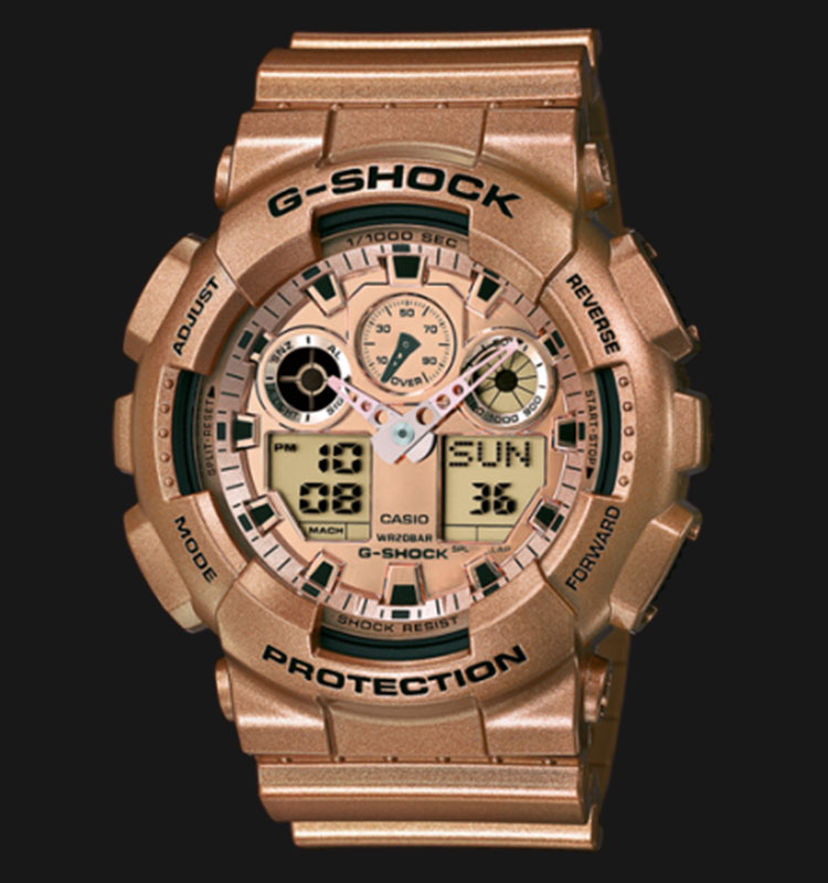 Casio G-Shock GA-100GD-9ADR Special Models Edition Machtwatch
