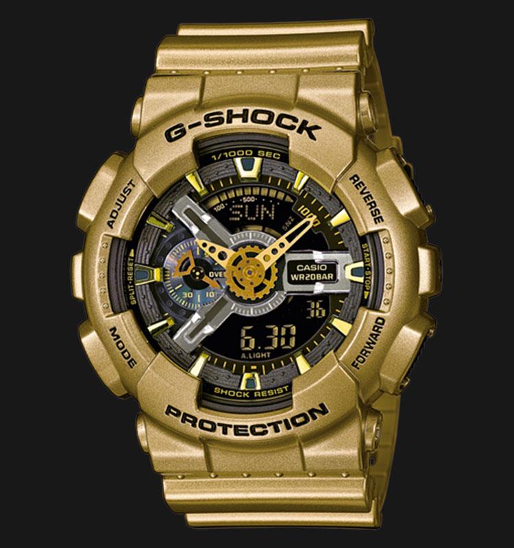 Casio G-Shock GA-110GD-9BDR Limited Models Edition Machtwatch