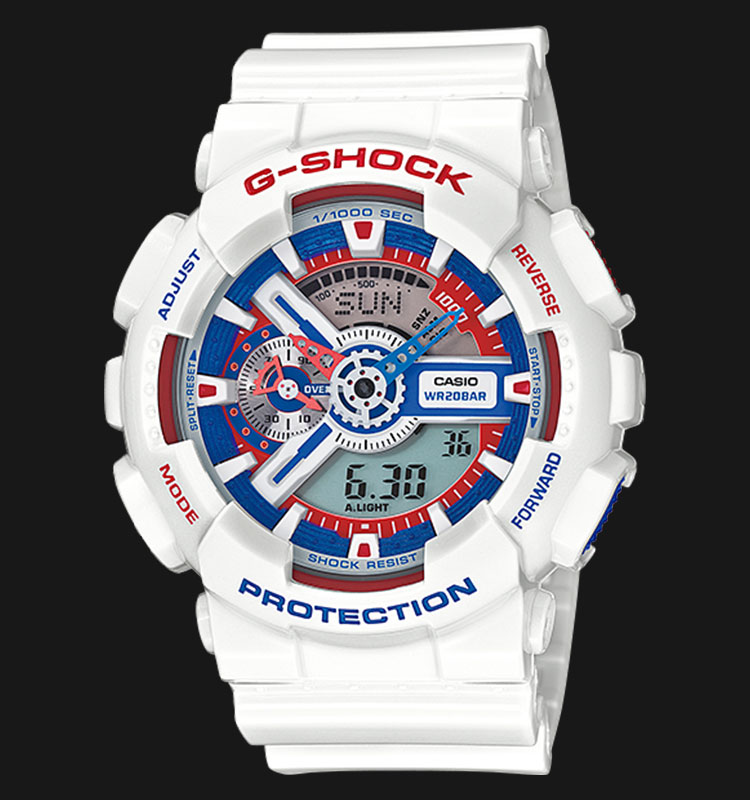 Casio G-Shock GA-110TR-7ADR Limited Models Edition Machtwatch