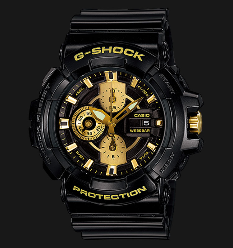 Casio G-Shock GAC-100BR-1ADR Special Color Models Machtwatch