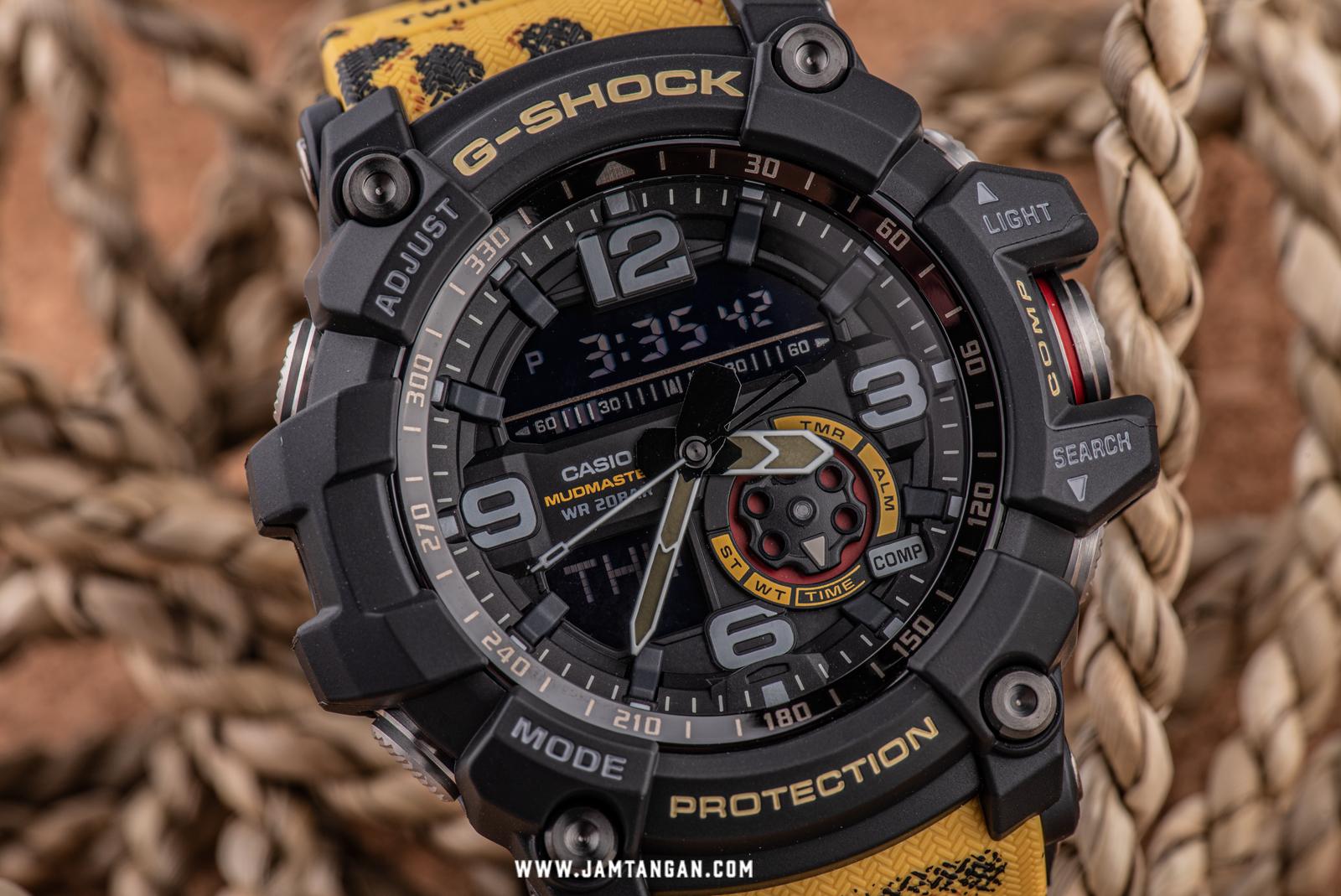 Casio G-Shock GG-1000WLP-1AJR Mudmaster Twin Sensor Digital Analog Dial Camouflage Resin Strap Machtwatch