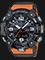 Casio G-Shock GG-B100-1A9JF Mudmaster Digital Analog Dial Orange Resin Strap Thumbnail