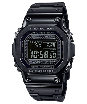 Casio G-Shock GMW-B5000GD-1DR Men Black Digital Dial Black Stainless Steel Strap