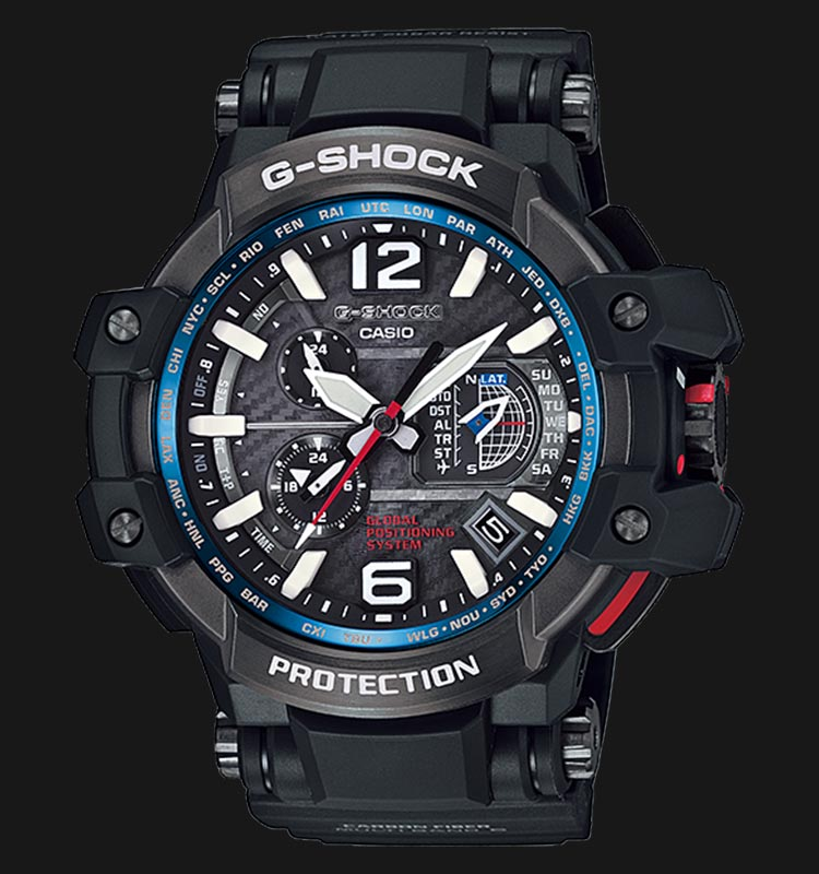 Casio G-Shock GPS Hybrid Wave Ceptor GPW-1000-1ADR Machtwatch