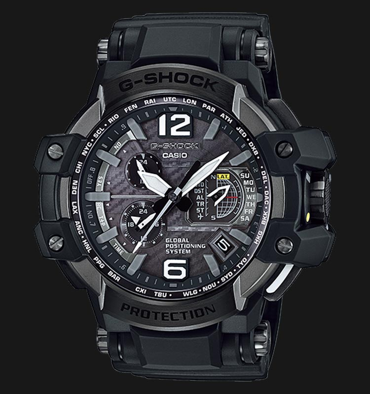 Casio G-Shock GPS Hybrid Wave Ceptor GPW-1000-1BDR Machtwatch