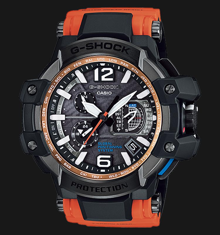 Casio G-Shock GPS Hybrid Wave Ceptor GPW-1000-4ADR Machtwatch