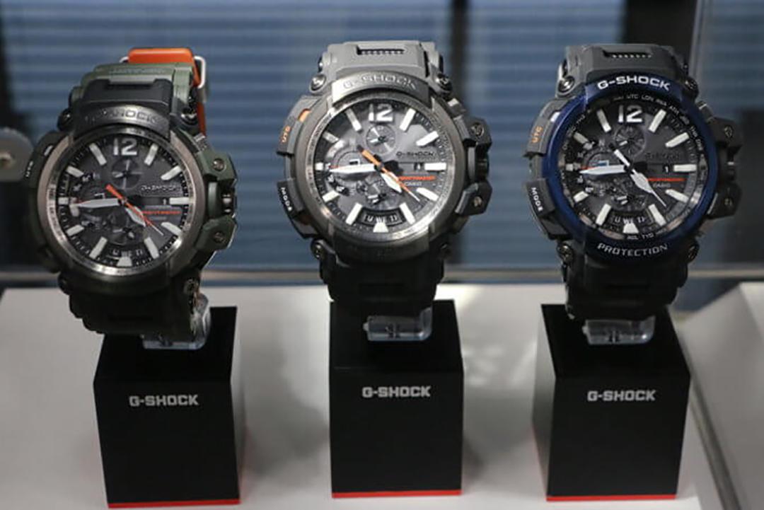 Casio G-Shock Gravitymaster GPW-2000-1A2DR Equipped GPS Hybrid Resin + Carbon Machtwatch
