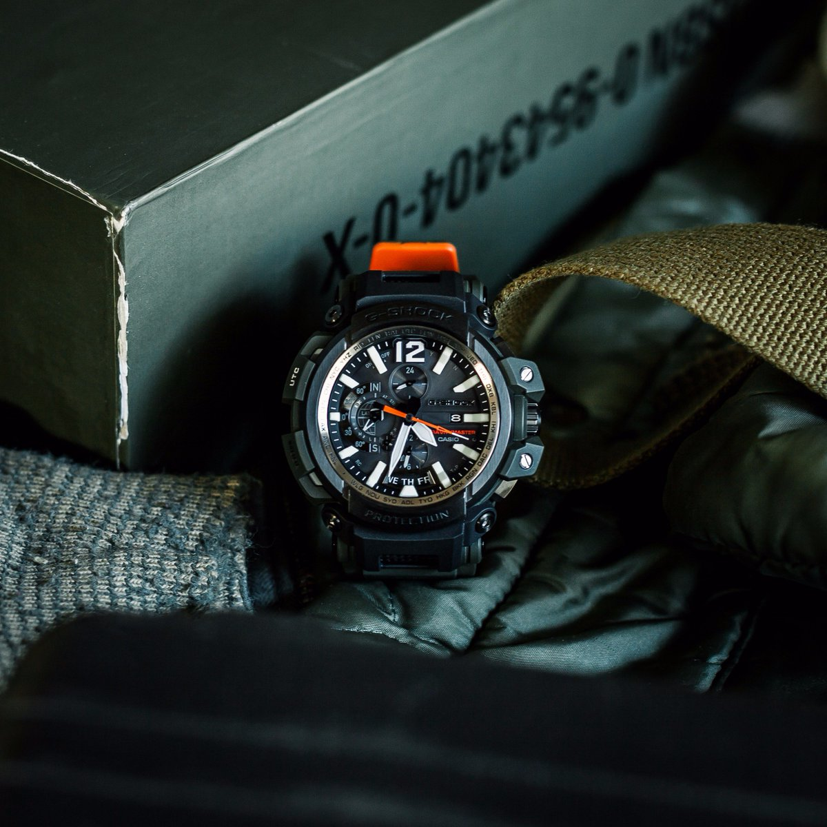 Casio G-Shock Gravitymaster GPW-2000-3AJF Equipped GPS Hybrid Resin + Carbon Machtwatch