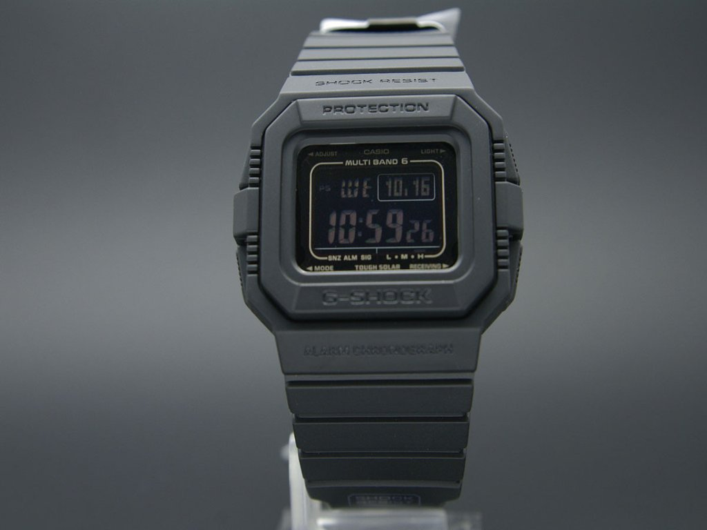 Casio G-Shock GW-5510-1BJF Multi Band 6 Water Resistant 200M Resin Band (JDM) Machtwatch