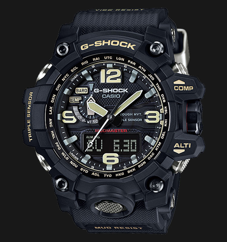 Casio G-Shock MUDMASTER GWG-1000-1ADR Triple Sensor Machtwatch