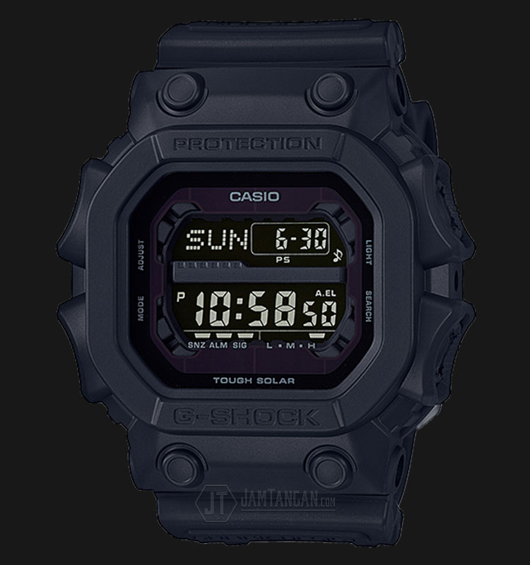 Casio G Shock Gx 56bb 1dr Solar Powered Water Resistant 200m Black Resin Band