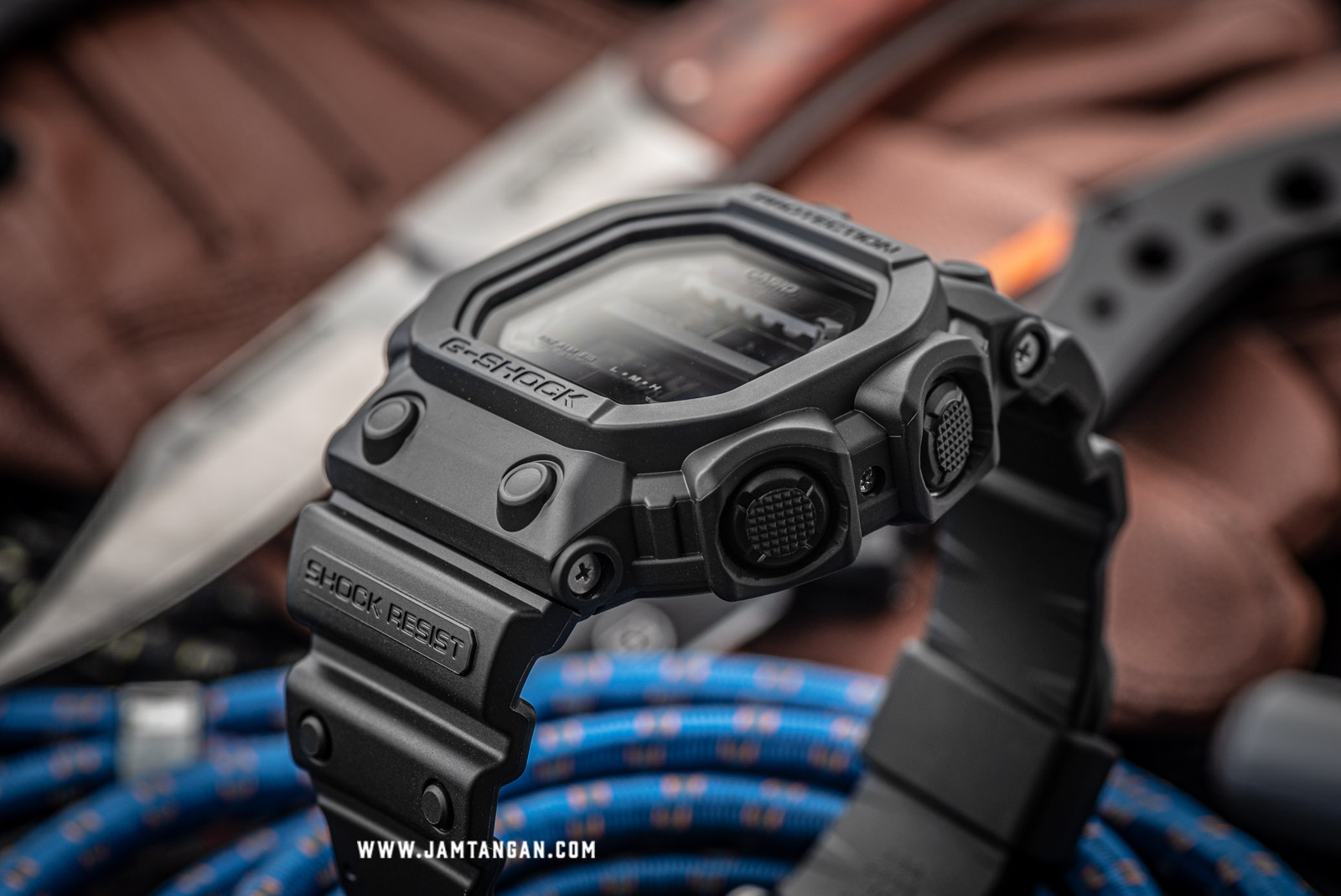 Casio G-Shock GX-56BB-1DR Solar Powered Water Resistant 200M Black Resin Band Machtwatch