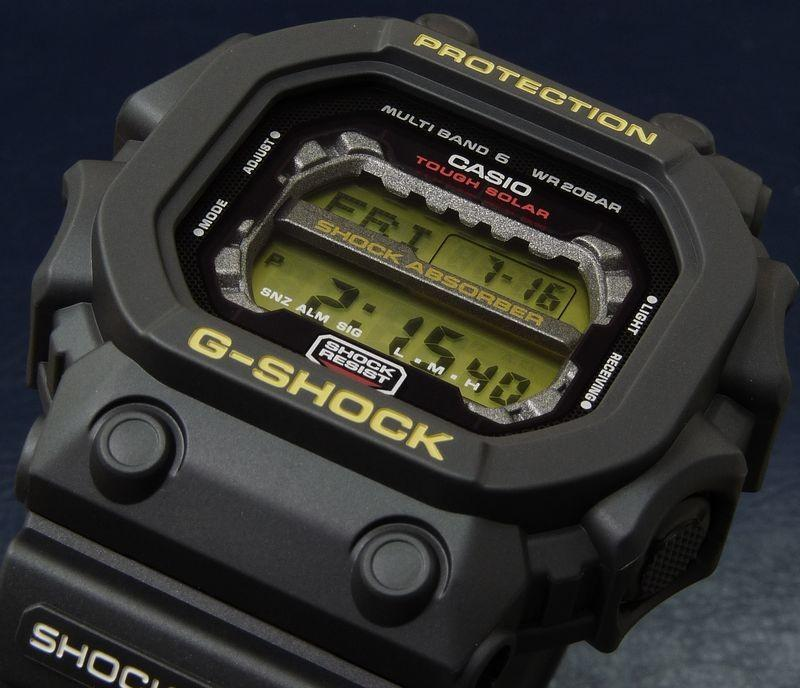 Casio G-Shock GXW-56-1BJF Multi Band Water Resistant 200M Resin Band (JDM) Machtwatch