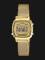 Casio LA-670WEMY-9DF Vintage Ladies Digital Dial Gold Mesh Strap Thumbnail