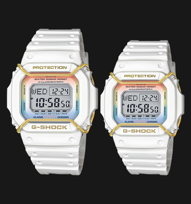 Casio G-Shock and Baby-G LOV-14B-7DR Machtwatch