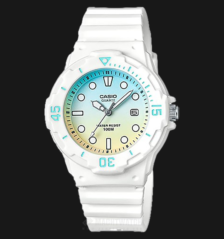 Casio LRW-200H-2E2VDR Water Resistant 100M Resin Band Machtwatch