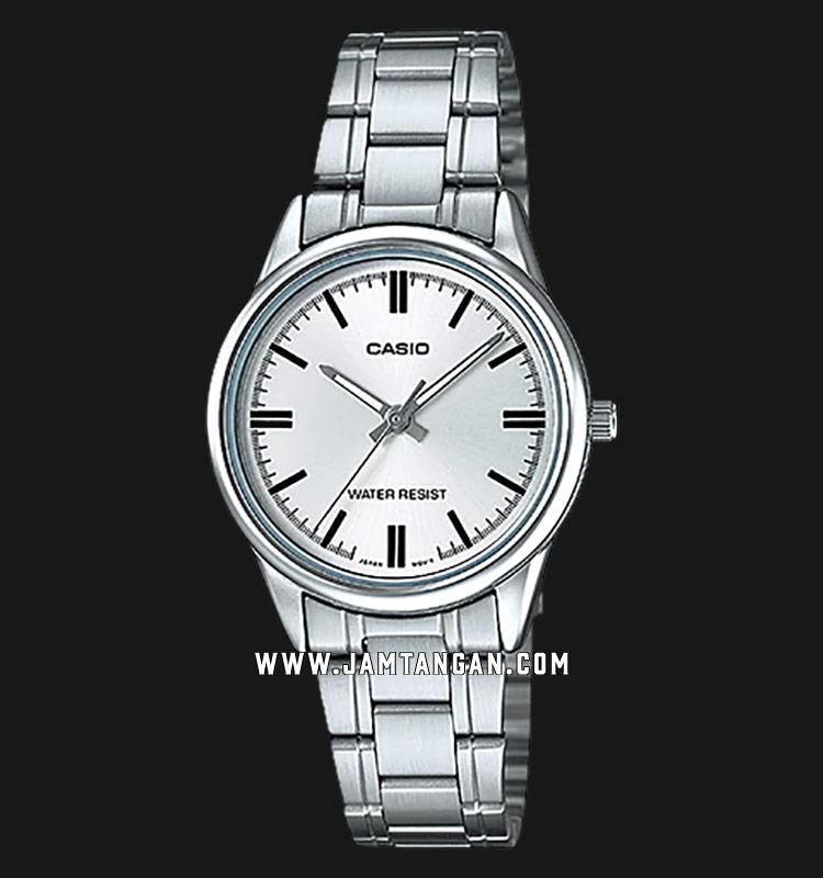 Casio LTP-V005D-7AUDF Silver Dial Stainless Steel Strap Machtwatch