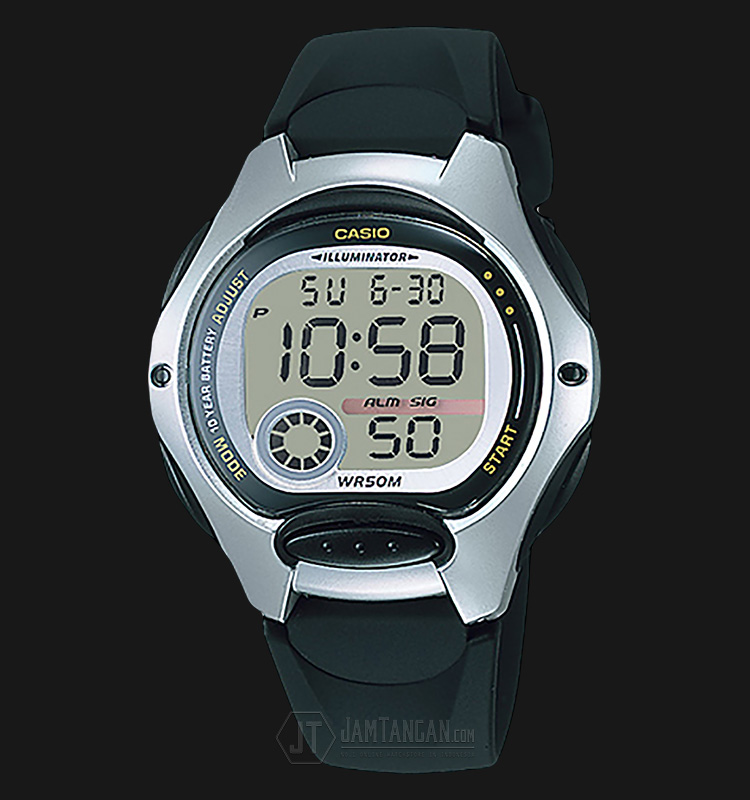 Casio LW-200-1AVDF - 10-Years Battery Life - Rubber Band Machtwatch