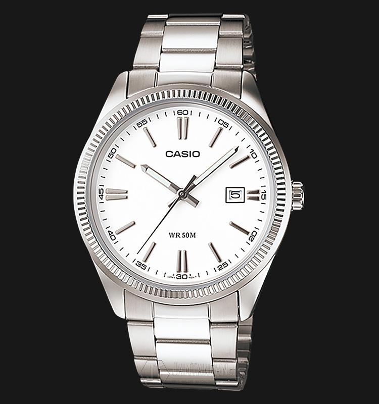 Casio MTP-1302D-7A1VDF Stainless Steel Machtwatch