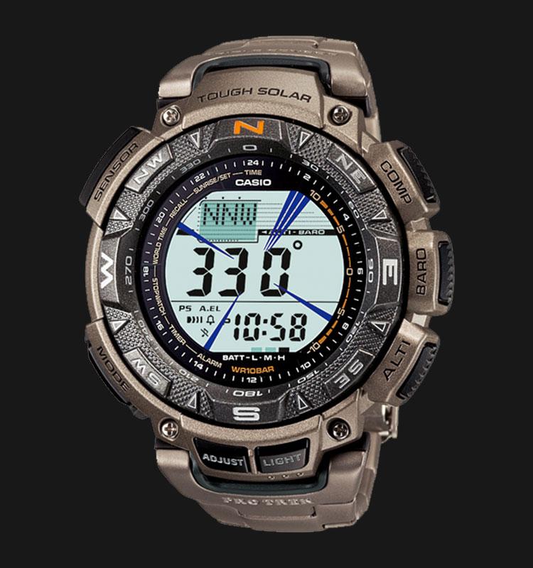 Casio Pro Trek PRG-240T-7DR Machtwatch