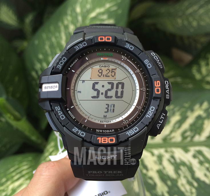 Casio Pro Trek PRG-270-1DR Machtwatch