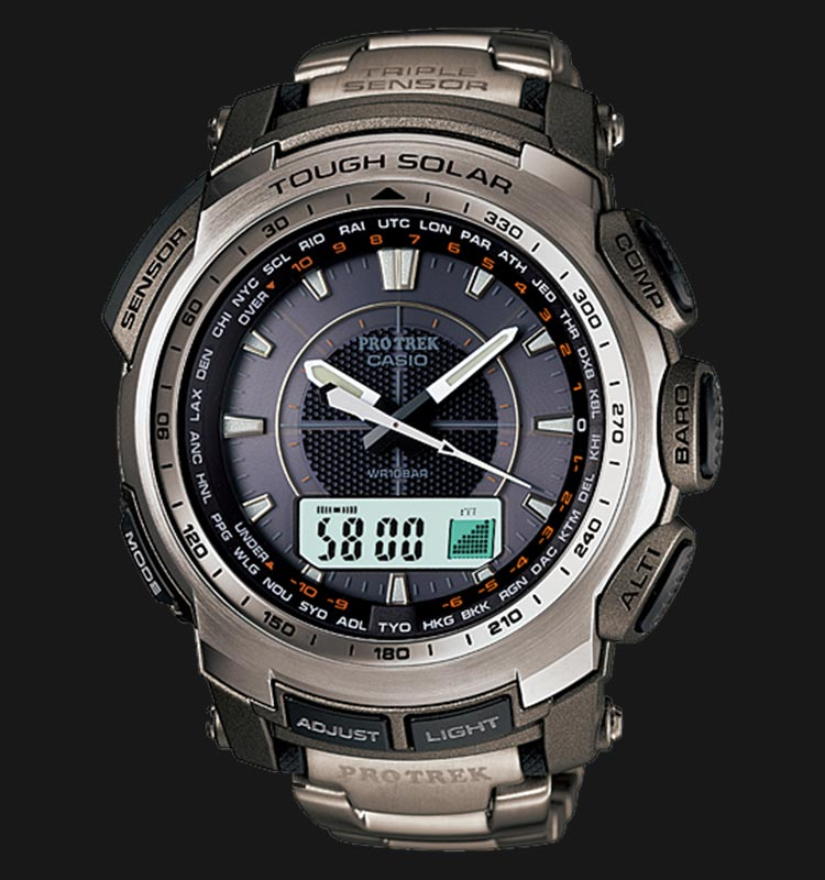 Casio Pro Trek PRG-510T-7DR Machtwatch