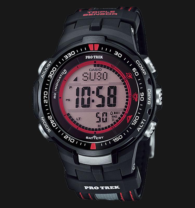 Casio Pro Trek PRW-3000G-1DR Machtwatch