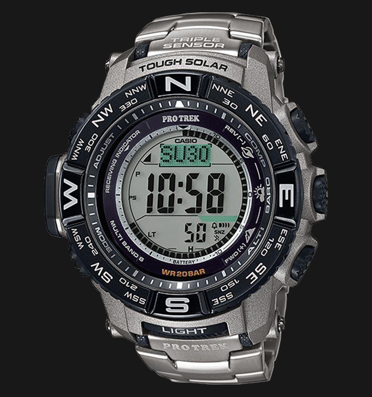 Casio Pro Trek PRW-3500T-7DR Machtwatch