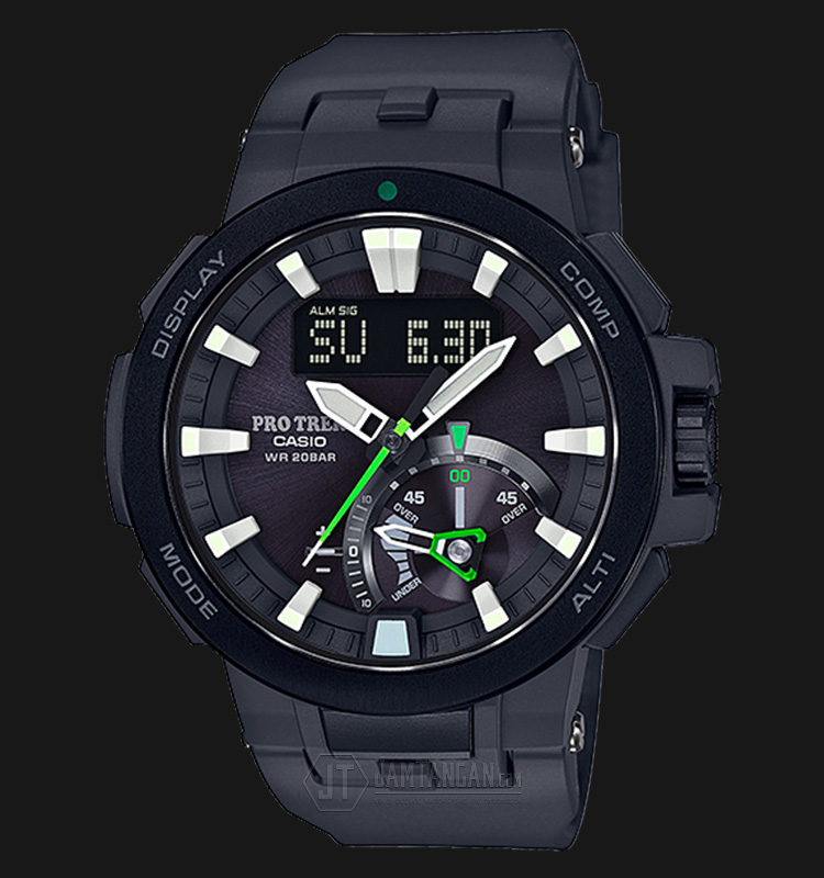 Casio Pro Trek PRW-7000-1ADR Tough Solar Wave Ceptor Smart Access 200M Machtwatch