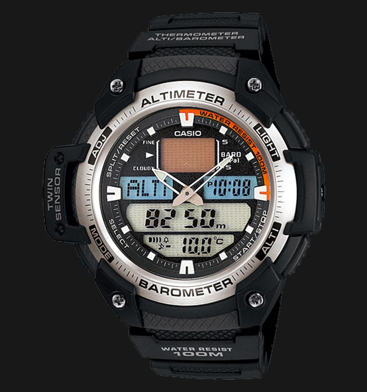 Casio Twin Sensor SGW-400H-1BVDR Machtwatch