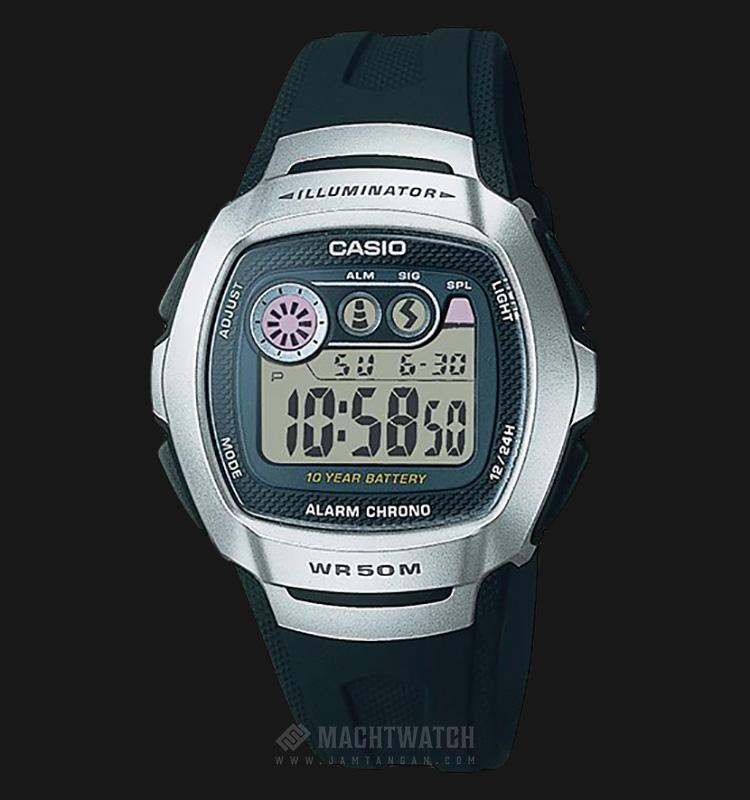 Casio Standar W-210-1AVDF Alarm Chrono WR 50M Machtwatch