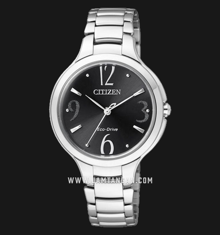 Citizen EP5990-50E Eco-Drive Black Dial Stainless Steel Strap Machtwatch