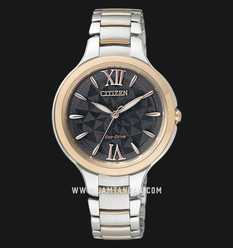 Citizen EP5996-53H Eco-Drive Grey Dial Dual Tone Stainless Steel Strap Machtwatch