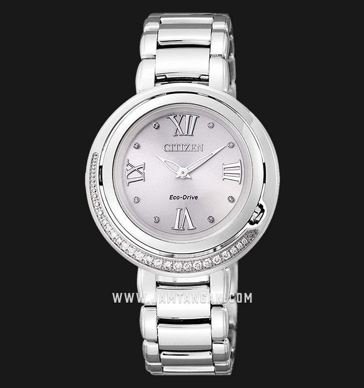 Citizen EX1120-53X Eco-Drive Silver Dial Stainless Steel Strap Machtwatch