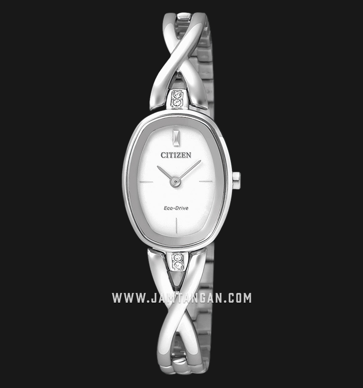 Citizen EX1410-88A Eco-Drive White Dial Stainless Steel Strap Machtwatch