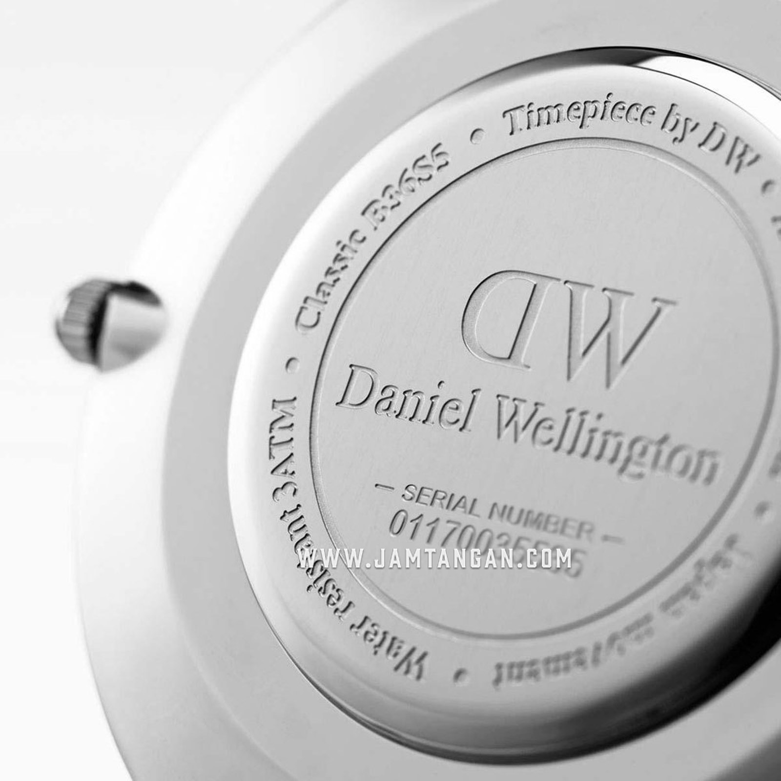 Daniel Wellington DW00100268 Classic Roselyn 40mm White Dial Red NATO Strap Machtwatch