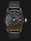 Diesel Rasp DZ1845 Men Black Dial Black Leather Strap Thumbnail