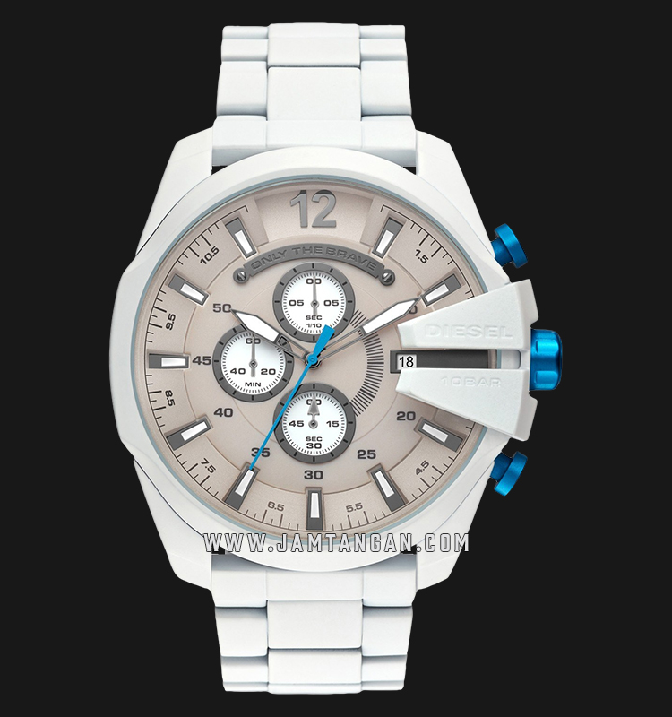 Diesel DZ4502 Chronograph Gray Dial Stainless Steel Strap Machtwatch