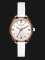 Diesel Timeframe DZ5546 Ladies Silver Dial White Leather Strap Thumbnail
