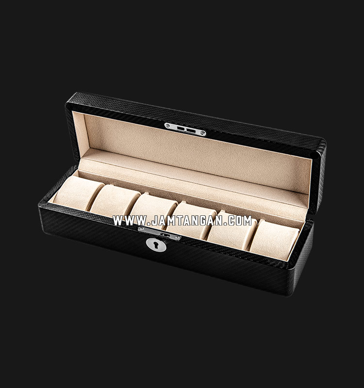 Kotak Jam Tangan Driklux 6W-BX Carbon PU Wood Box Machtwatch