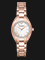 Emporio Armani Dress AR11038 Ladies Silver Dial Rose Gold Stainless Steel Strap Thumbnail