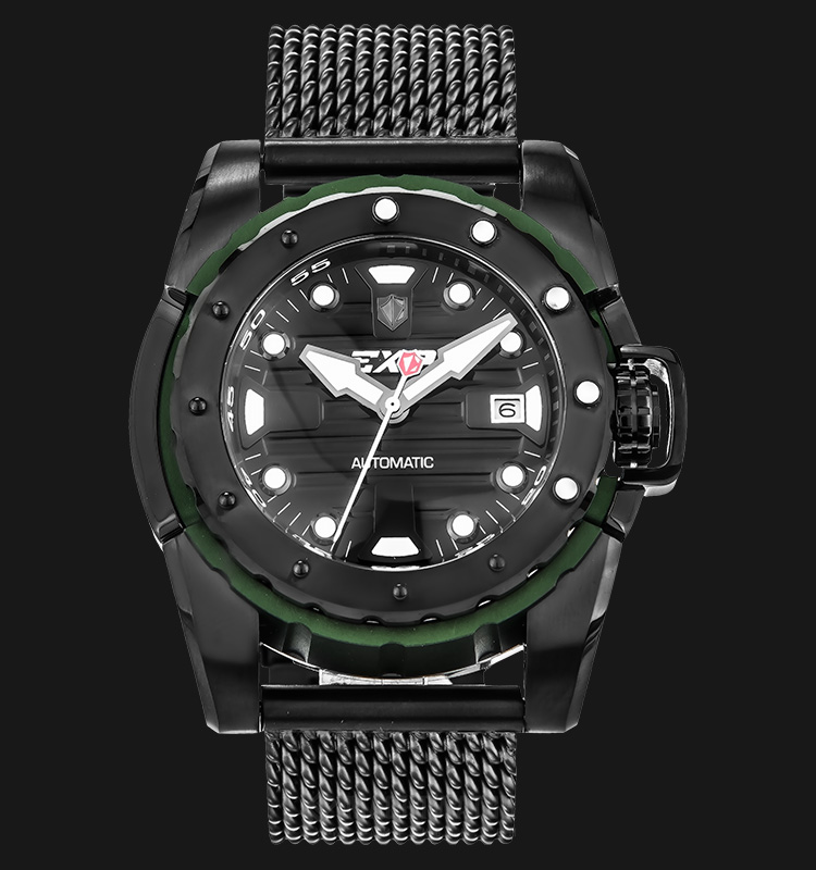 Expedition E 301 MA BIPBAGN Men Sport Automatic Black Dial Stainless Steel Machtwatch