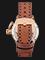 Expedition E 6339 BF LRGSL Ladies White Dial Brown Leather Strap Thumbnail
