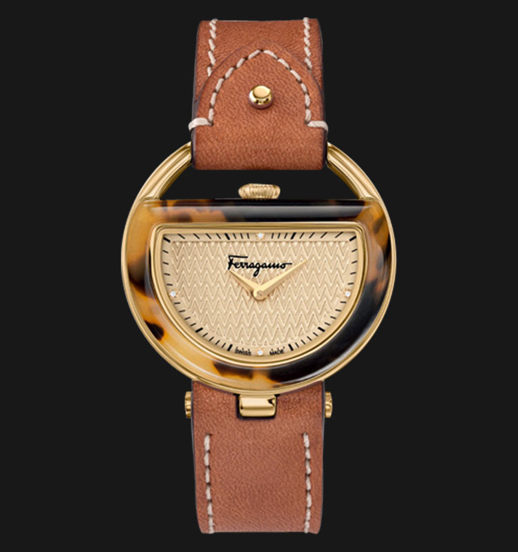 Salvatore Ferragamo FG502-0014 Buckle Machtwatch
