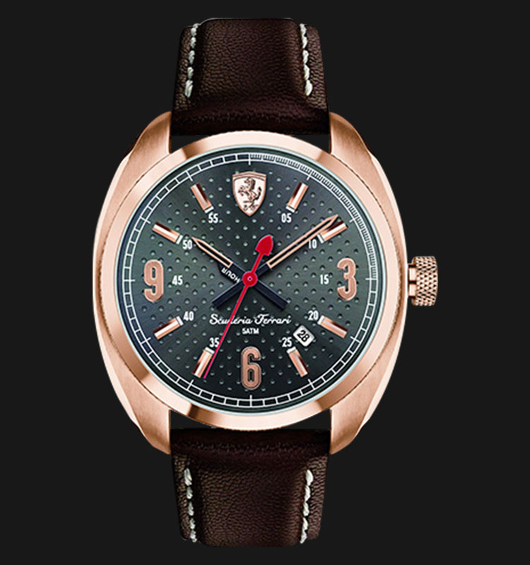 Ferrari 0830208 Scuderia Leather Machtwatch